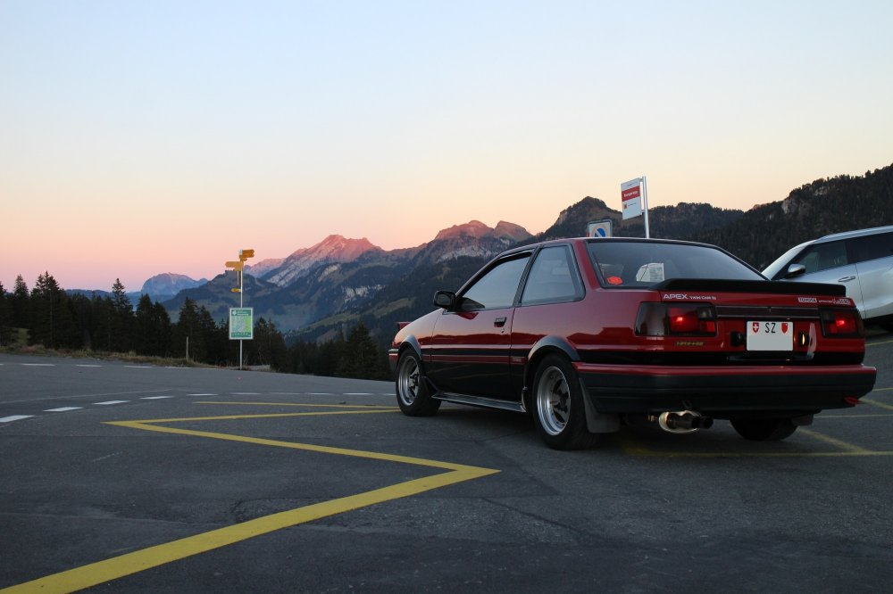 [Image: AEU86 AE86 - JDM GT-Apex Trueno in the Alps #]